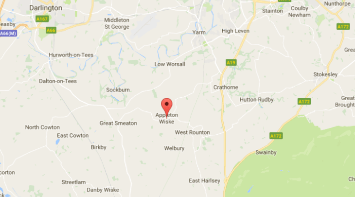 Appleton Wiske - Google Map