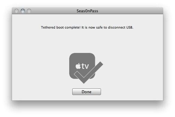 Seas0nPass 08 How to jailbreak Apple TV 2 on iOS 4.2.1 with Seas0nPass