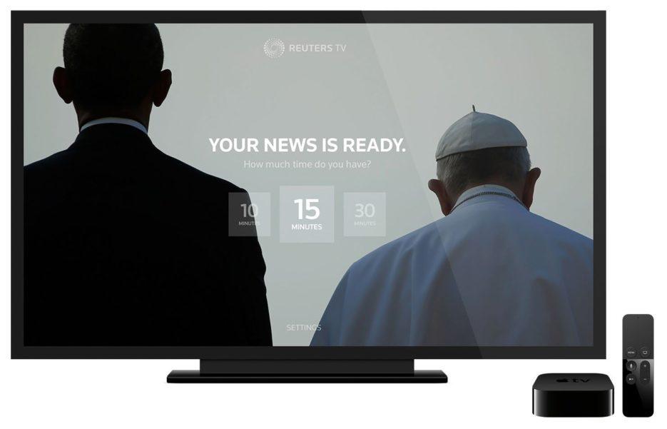 Resultado de imagen para Reuters TV apple tv
