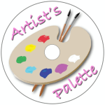 Artist's Palette Disc Label