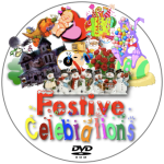 Festive Celebrations Disc Label