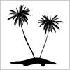 常夏の象徴 やしの木