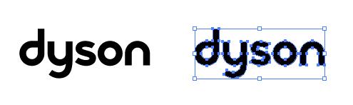 ダイソンのロゴ