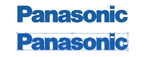パナソニックのロゴepsデータ