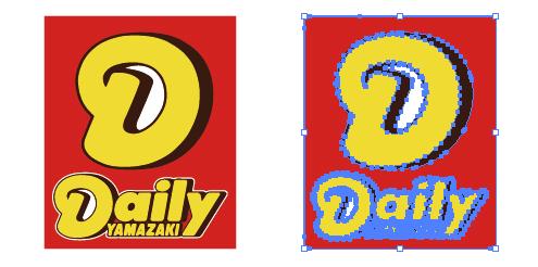 コンビニ デイリーヤマザキ 看板ロゴ