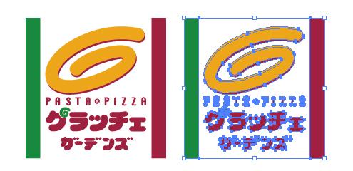 ファミレス グラッチェ ガーデンズのロゴ