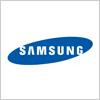 サムスン電子(samsung)のロゴ