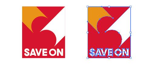 コンビニ セーブオン(SAVE ON)のepsロゴ