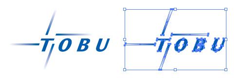 東武鉄道株式会社、通称東武のロゴ