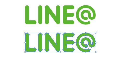 LINE@のepsロゴアイコン
