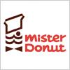ミスタードーナツ(mister Dounut)のロゴマーク