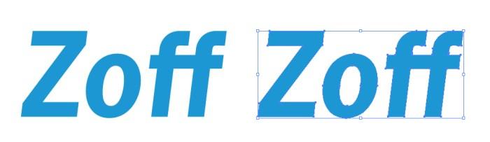Zoff(ゾフ)のロゴマーク