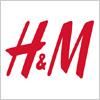 アパレルメーカー、H&M(エイチ・アンド・エム)のロゴマーク