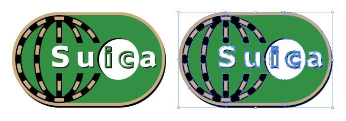 Suica(スイカ)のロゴアイコン | 【イラレ・eps素 …