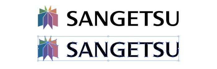 サンゲツのロゴマーク