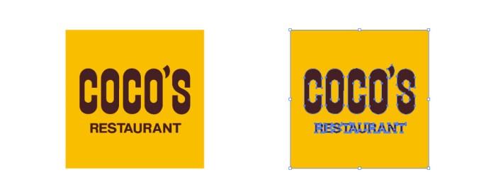 ココス(COCO'S)のロゴマーク