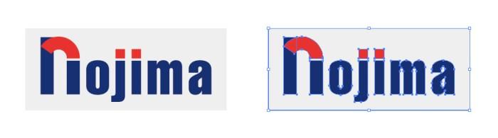 ノジマ(nojima)のロゴマーク