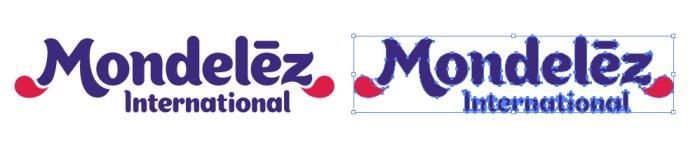 モンデリーズ(Mondelez)のロゴマーク