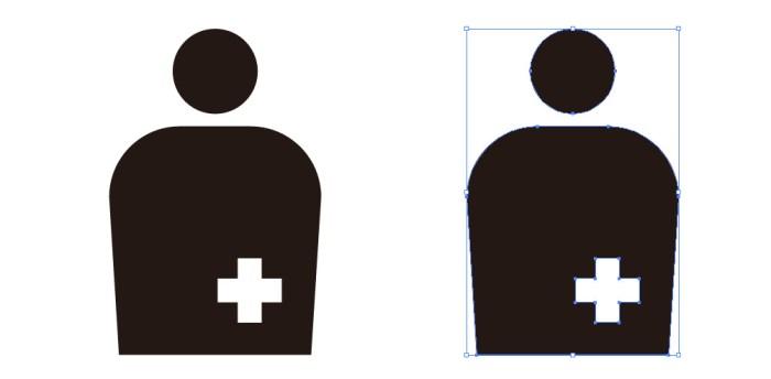 人工肛門・人工膀胱を造設している人のオストメイトマーク