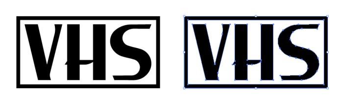 VHS(ブイエイチエス)のロゴマーク