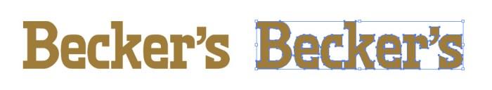 Becker's(ベッカーズ)のロゴマーク