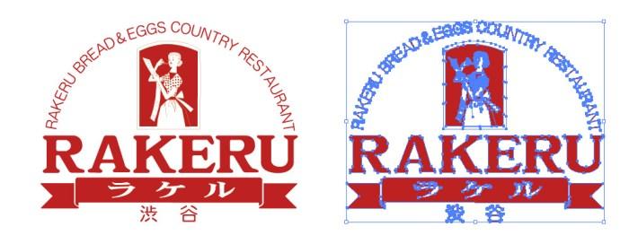 RAKERU(ラケル)のロゴマーク
