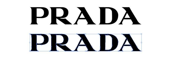 プラダ (PRADA)のロゴマーク