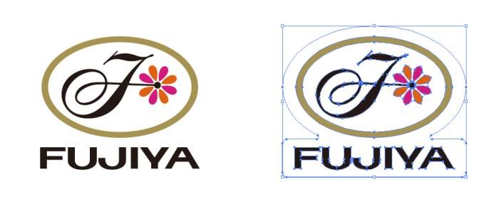 不二家(FUJIYA)のロゴマーク
