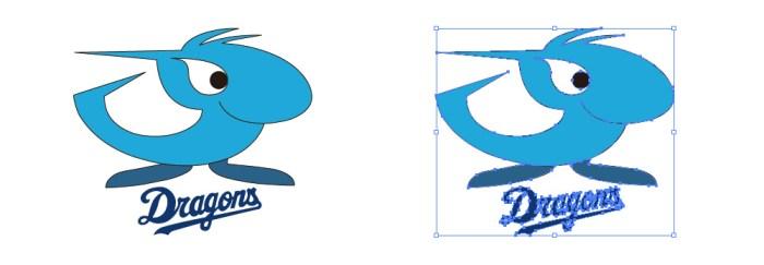 中日ドラゴンズ(Chunichi Dragons)のロゴマーク