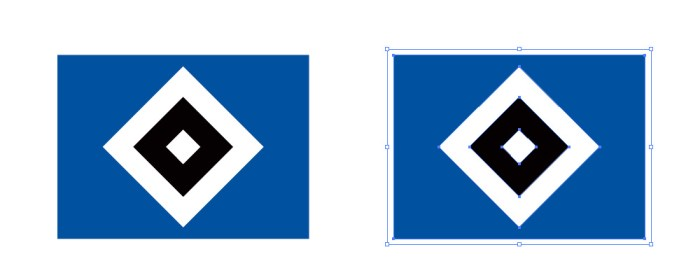 ハンブルガーSV(Hamburger Sport-Verein)のロゴマーク