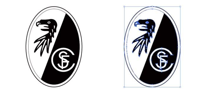 シュポルト・クラブ・フライブルク(Sport Club Freiburg)のロゴマーク