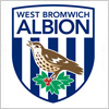 ウェスト・ブロムウィッチ・アルビオンFC(West Bromwich Albion Football Club)のロゴマーク