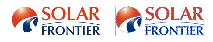 ソーラーフロンティア(SOLAR FRONTIER)のロゴマーク