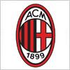 ACミラン(アッソチャツィオーネ・カルチョ・ミラン/Associazione Calcio Milan)のロゴマーク