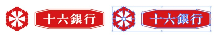 十六銀行のロゴマーク