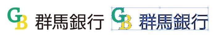 群馬銀行のロゴマーク