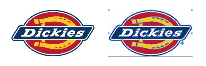 ディッキーズ(Dickies)のロゴマーク