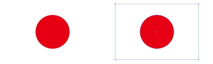 日本の国旗(日の丸)パスデータ