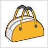 スポーツバッグのイラスト素材