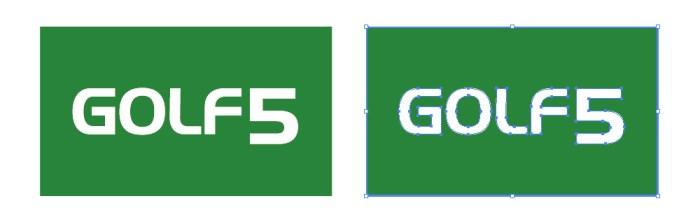 GOLF5(ゴルフファイブ)のロゴマーク