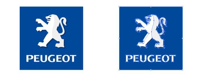 プジョー (PEUGEOT) のロゴマーク