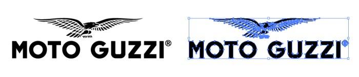 モト・グッチ(MOTO GUZZI)のロゴマーク