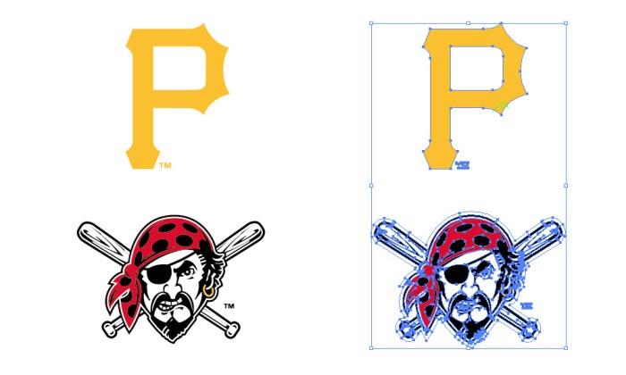 ピッツバーグ・パイレーツ(Pittsburgh Pirates)のロゴマーク