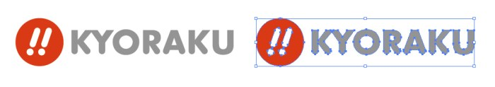 京楽(KYORAKU)のロゴマーク