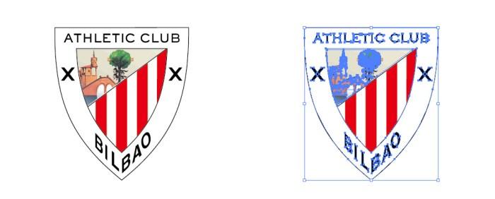 アスレティック・ビルバオ(Athletic Club)のロゴマーク