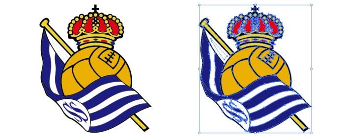 レアル・ソシエダ(Real Sociedad)のロゴマーク