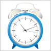ベルのついた目覚まし時計のイラスト