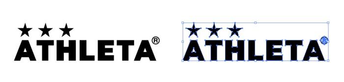 アスレタ(ATHLETA)のロゴマーク