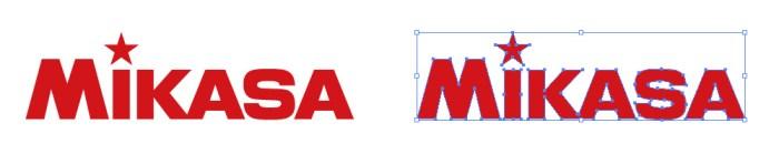 ミカサ(MIKASA)のロゴマーク