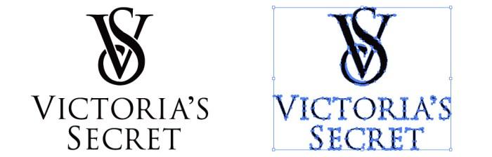 ヴィクトリアズ・シークレット(Victoria's Secret)のロゴマーク